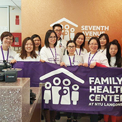 Something to Smile About, as Family Health Centers at NYU